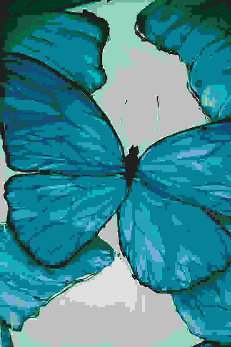 Бабочки Морфо Спальня в средиземноморском стиле от Sergei Zyrianov Средиземноморский