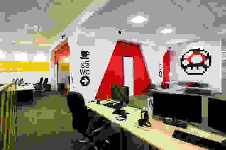 Levi9 Рабочий кабинет в стиле лофт от 27Unit design buro Лофт