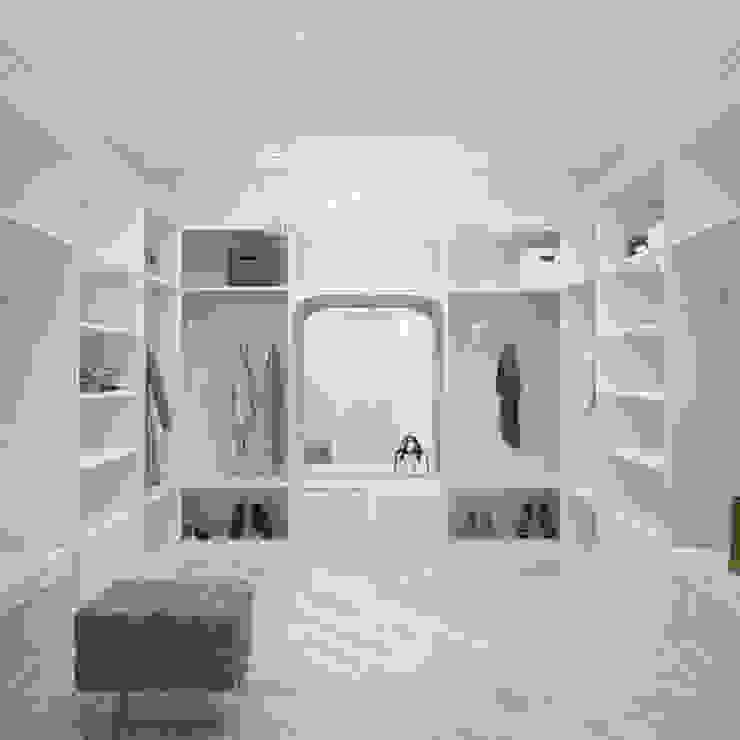 Interiors Гардеробная в классическом стиле от Мастерская дизайна INDIZZ Классический
