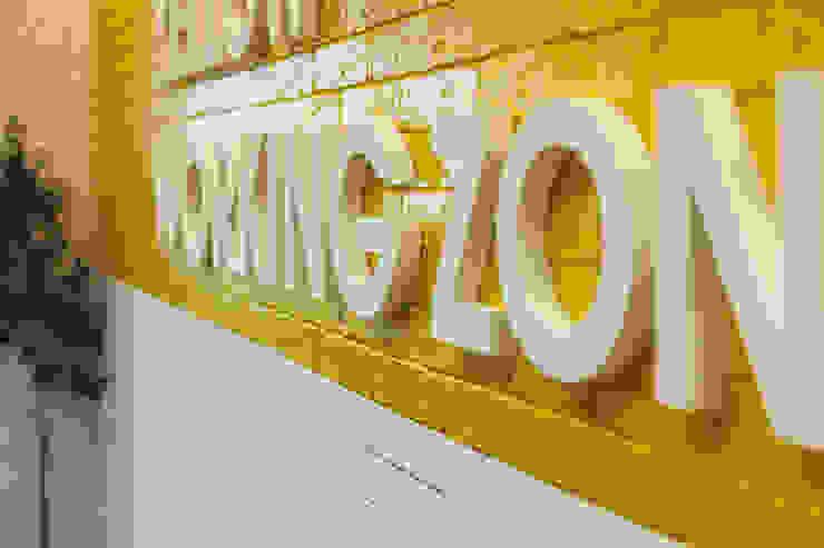 Levi9 Стены и пол в стиле лофт от 27Unit design buro Лофт