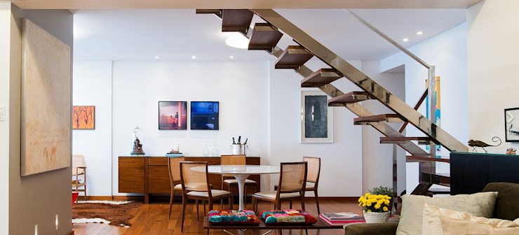 Sala de Jantar: Salas de jantar  por Escritório de Arquitetura e Interiores Janete Chaoui,Moderno