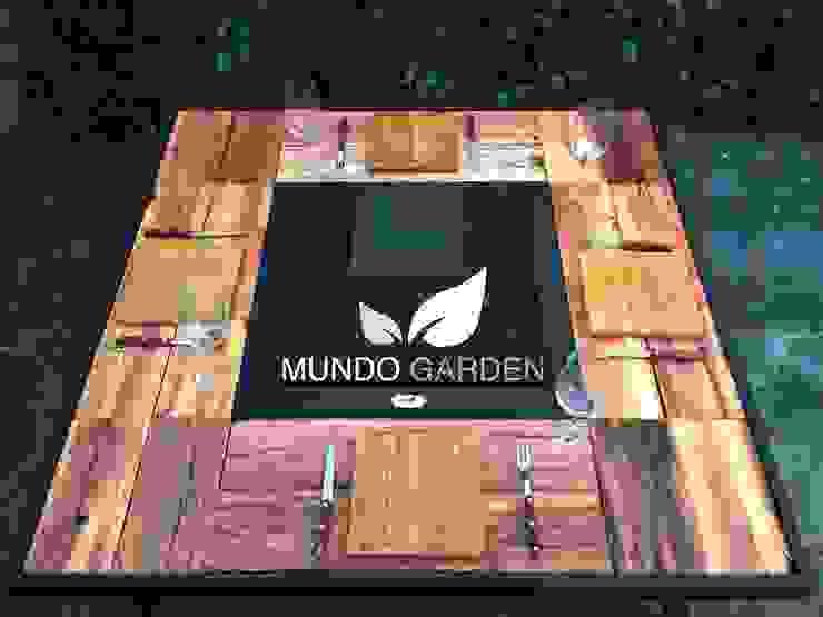 od Mundo Garden Nowoczesny Drewno O efekcie drewna