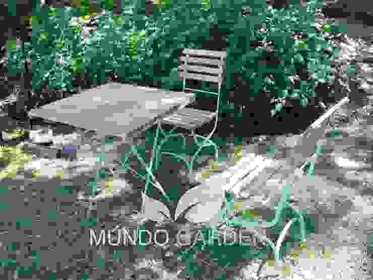 de estilo  de Mundo Garden, Moderno Madera Acabado en madera