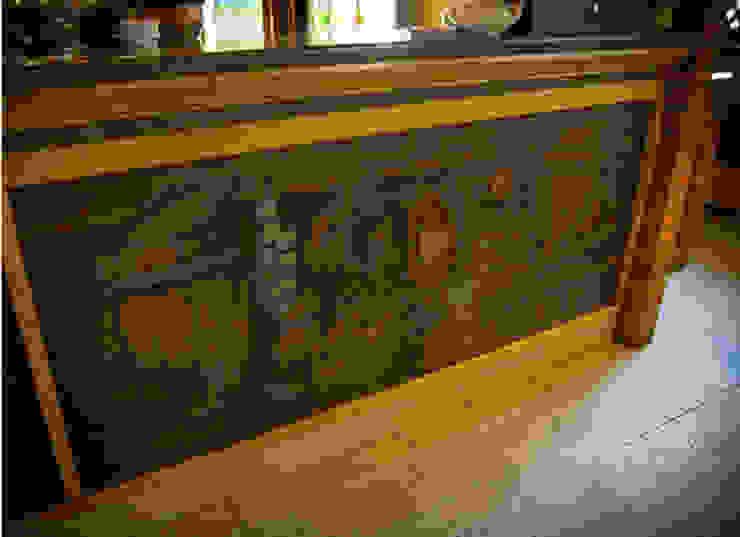 Роспись барной стойки в ресторане <q>Сова</q> Столовая комната в рустикальном стиле от Sergei Zyrianov Рустикальный