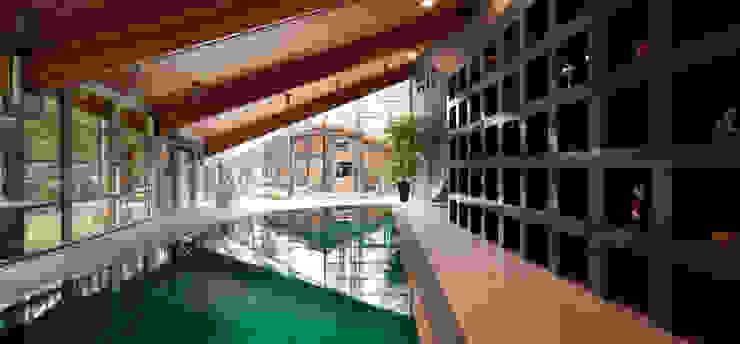 Загородный дом Подмосковье Бассейны в эклектичном стиле от Анахина Эклектичный