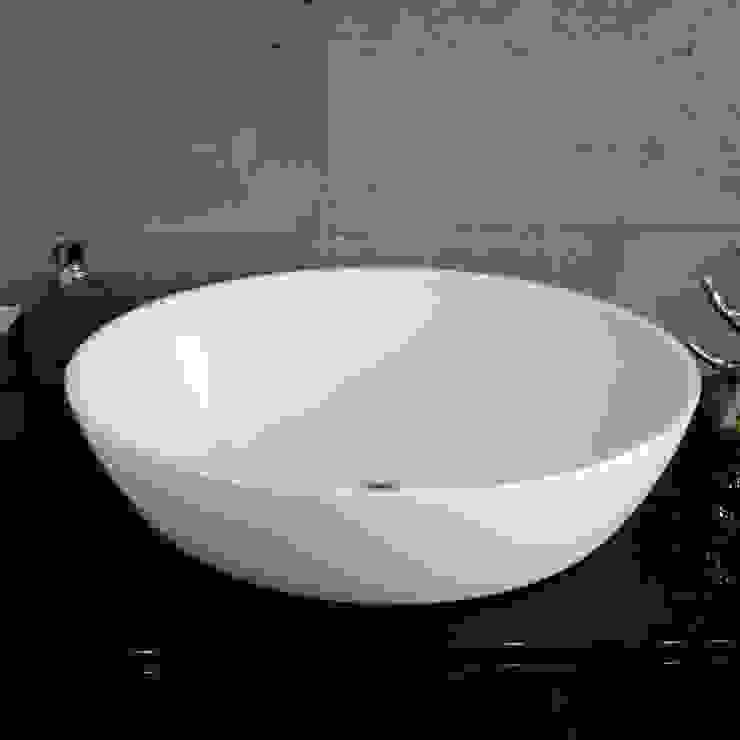 Umywalka nablatowa od Luxum Nowoczesna łazienka od Luxum Nowoczesny