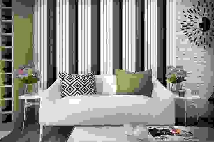 Salon minimaliste par Дизайн-студия HOLZLAB Minimaliste