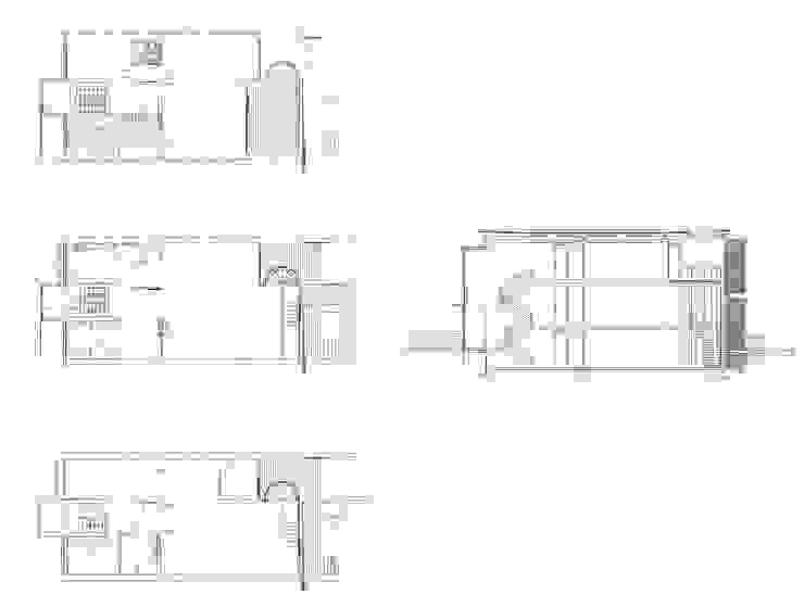 rzuty i przekrój od Atelier Loegler Architekci