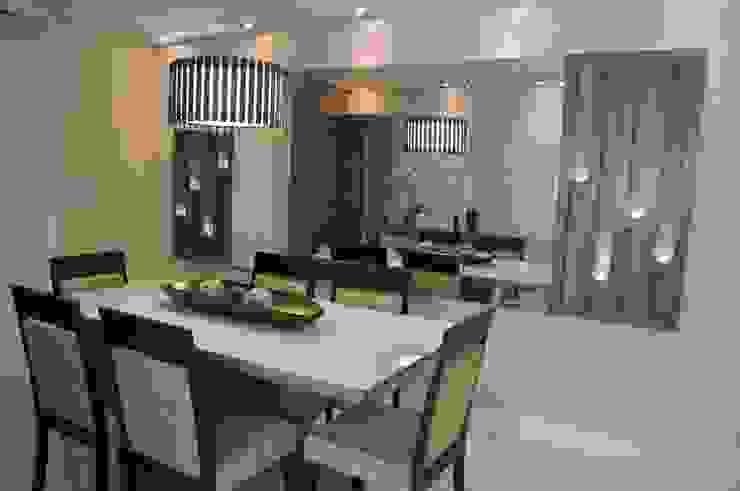 Sala de Jantar por Luizana Wiggers Projetos Moderno
