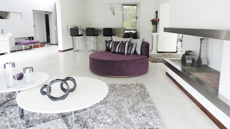 Casa YD - Estancia Abril Livings modernos: Ideas, imágenes y decoración de de Jauregui Salas arquitectos Moderno