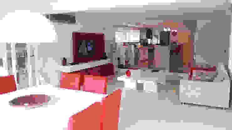 Moderne Küchen von de Jauregui Salas arquitectos Modern