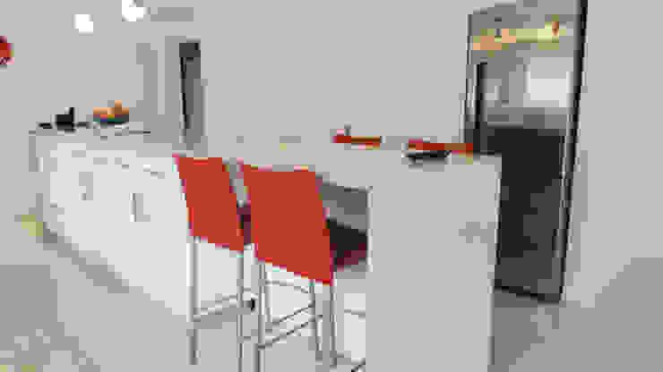 Cuisine moderne par de Jauregui Salas arquitectos Moderne