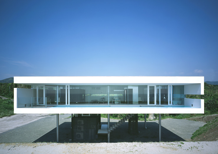 東シナ海を望む家 モダンな 家 の アトリエ環 建築設計事務所 モダン