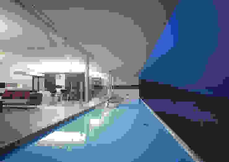 東シナ海を望む家 モダンデザインの テラス の アトリエ環 建築設計事務所 モダン