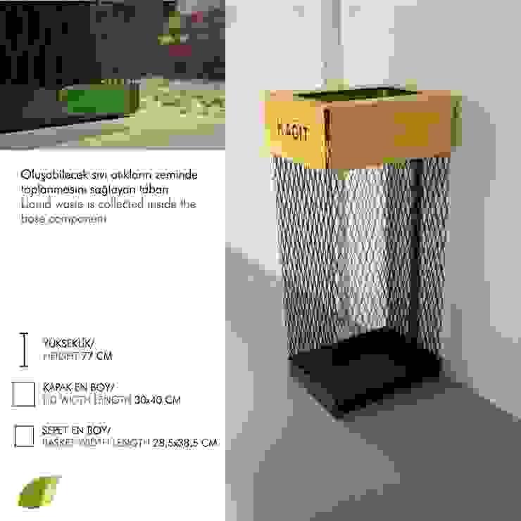 Yasemin Artut DESIGN STUDIO – ECO.SEPET: modern tarz , Modern