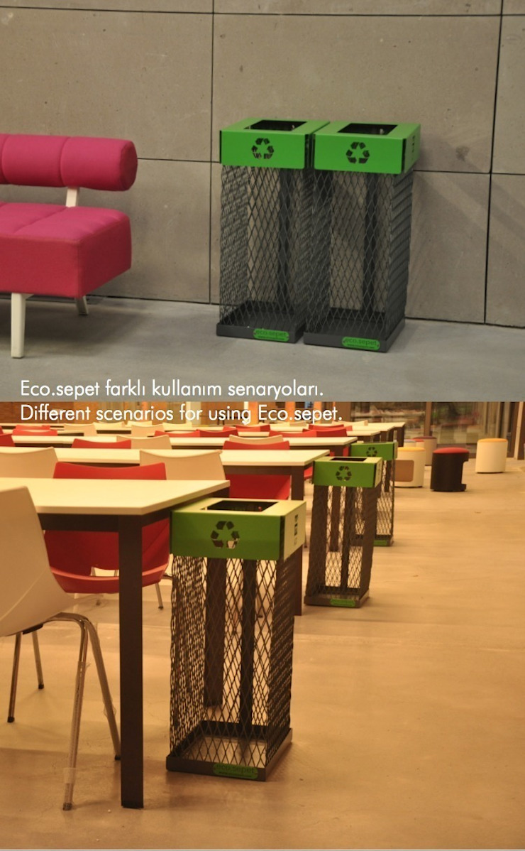 ECO.SEPET Yasemin Artut DESIGN STUDIO Paisajismo de interiores