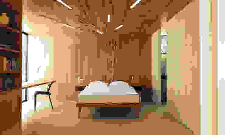 Country style bedroom by Estudio de Arquitectura Teresa Sapey Country