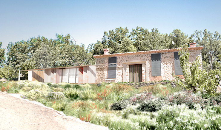 Casa Extremadura Casas de estilo rural de Estudio de Arquitectura Teresa Sapey Rural