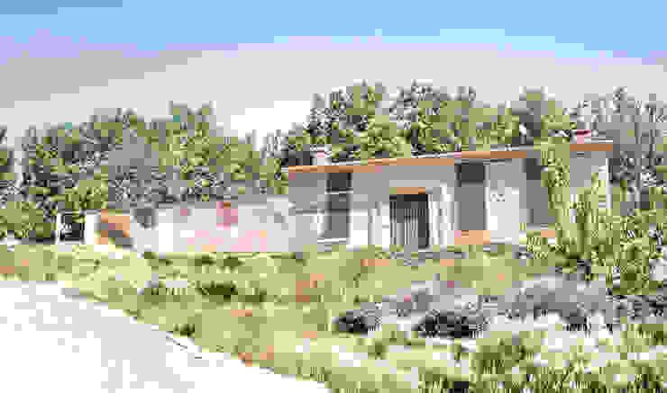 Projekty,  Domy zaprojektowane przez Estudio de Arquitectura Teresa Sapey , Wiejski