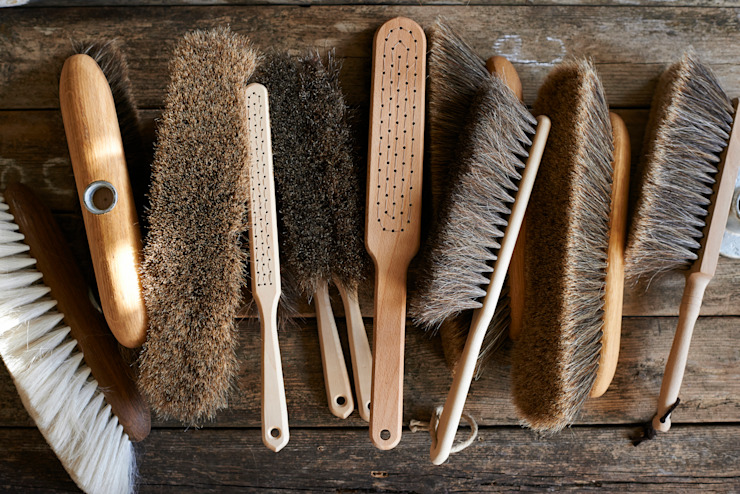 brush64's selection of Goat and horsehair brooms and brushes brush64 HouseholdHomewares