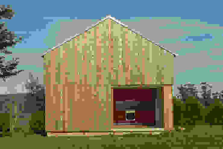 Casas de estilo  por Arrokabe arquitectos, Escandinavo