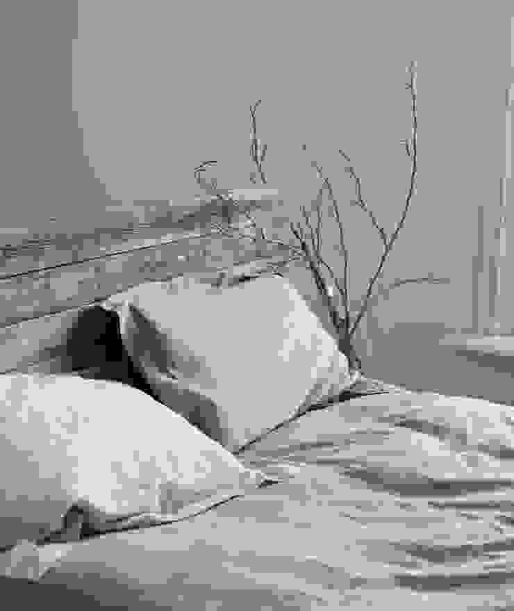 French linen duvet covers & pillowcases brush64 Yatak OdasıTekstil Ürünleri