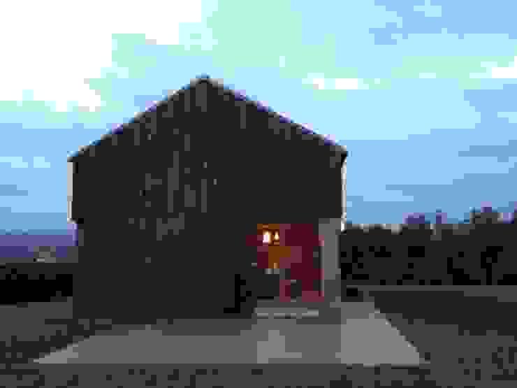 Casa de campaña Casas de estilo escandinavo de Arrokabe arquitectos Escandinavo
