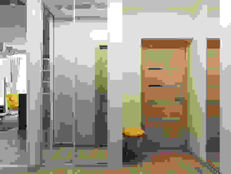 Scandinavian style corridor, hallway& stairs by Оксана Мухина Scandinavian