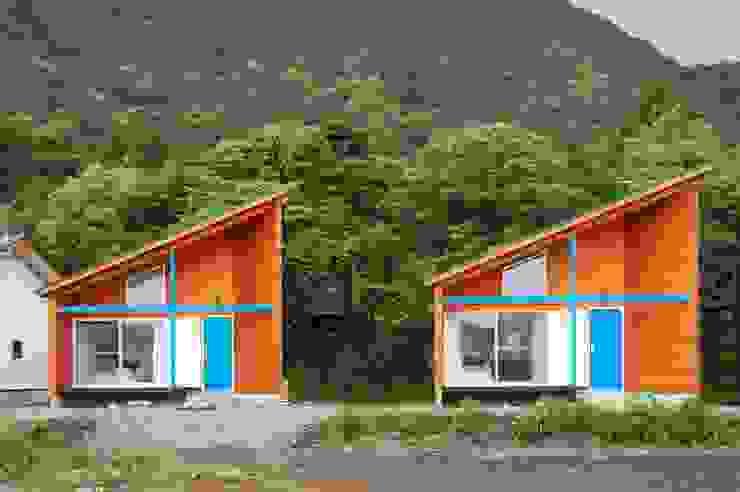 VillaHeureux 丘の上の小さな宿 モダンなホテル の 太田則宏建築事務所 モダン