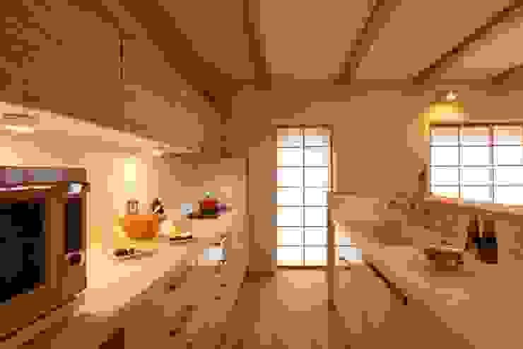 霧島の家 キッチン オリジナルデザインの キッチン の 株式会社 住まいず オリジナル