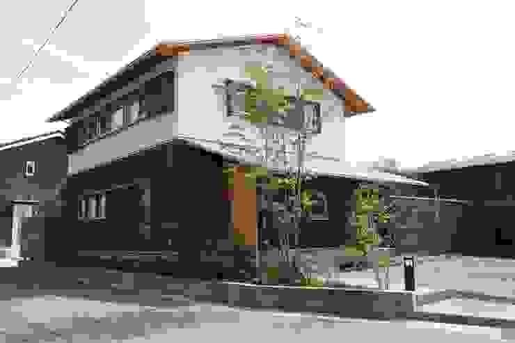 霧島の家 外観 オリジナルな 家 の 株式会社 住まいず オリジナル