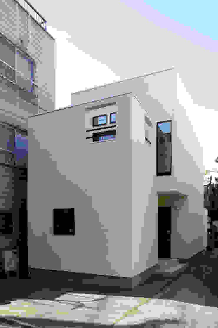 大島の家/ファサード ミニマルな 家 の アトリエ・ノブリル一級建築士事務所 ミニマル