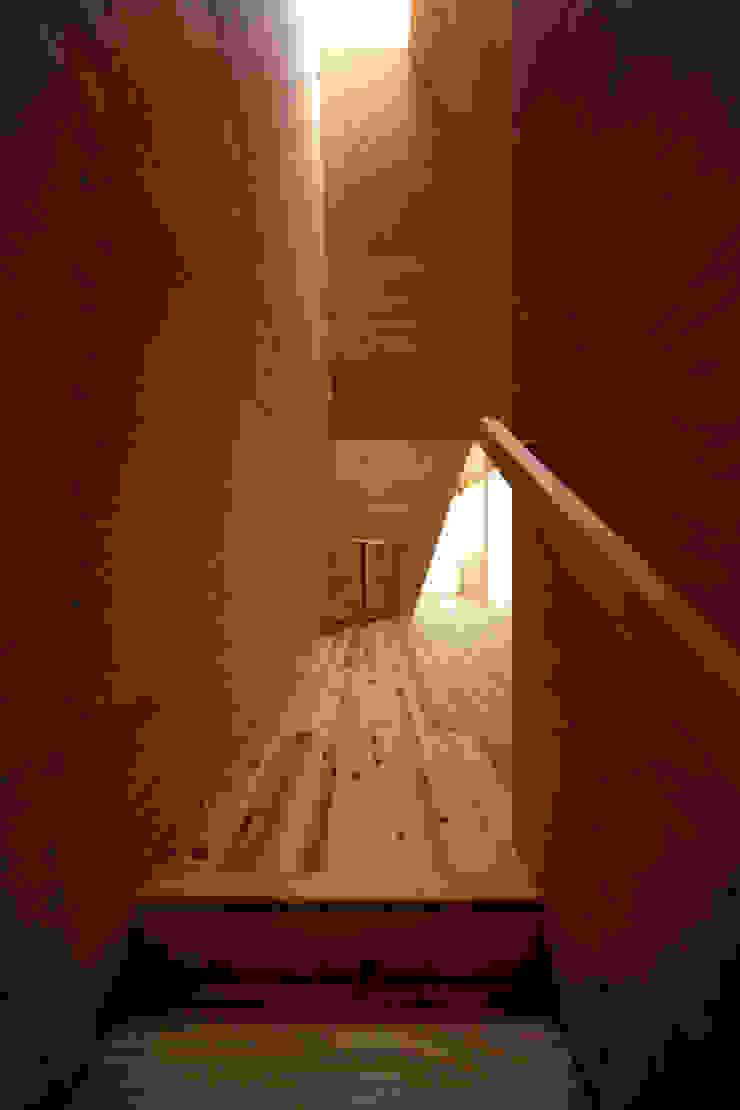 K氏のアトリエ オリジナルスタイルの 玄関&廊下&階段 の 塔本研作建築設計事務所 オリジナル