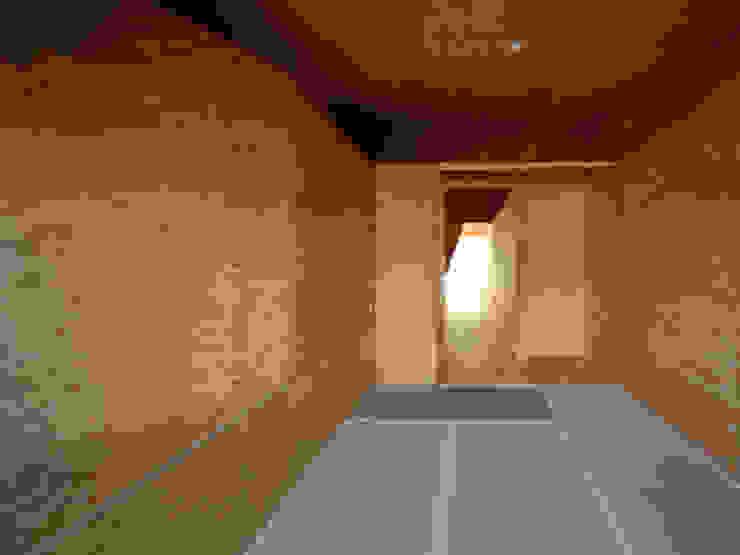 K氏のアトリエ 寝室 オリジナルスタイルの 寝室 の 塔本研作建築設計事務所 オリジナル