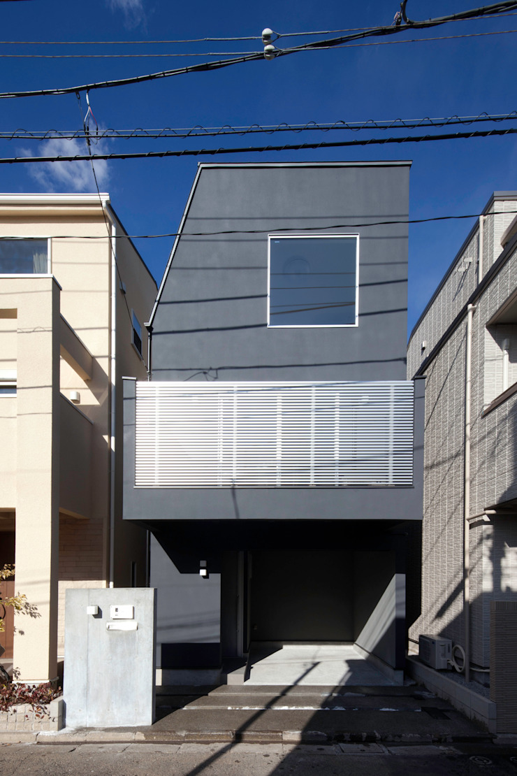 代沢の家/ファサード ミニマルな 家 の アトリエ・ノブリル一級建築士事務所 ミニマル
