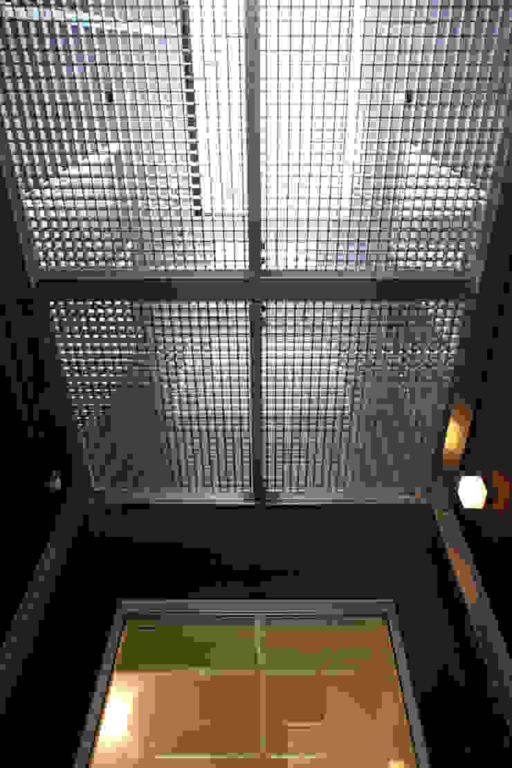 代沢の家/中庭 ミニマルデザインの テラス の アトリエ・ノブリル一級建築士事務所 ミニマル