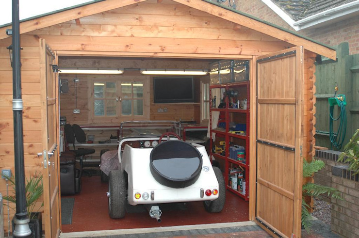 Wooden garages by Quick garden LTD Класичний