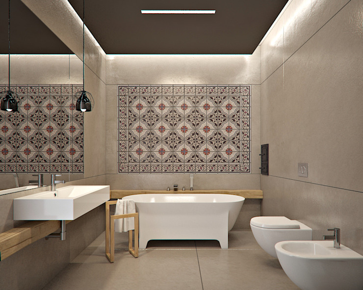 MOCOLOCCO Minimalist bathroom
