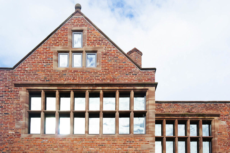 Bewsey Old Hall Modern houses by Pearson Architects Modern