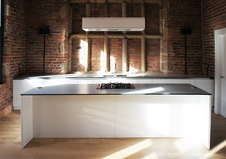 Bewsey Old Hall Modern kitchen by Pearson Architects Modern