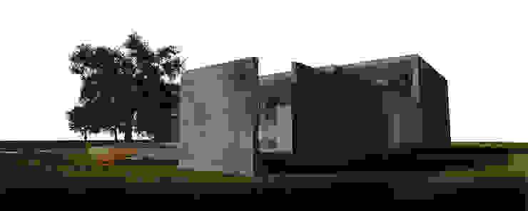 CASA HK Casas modernas: Ideas, imágenes y decoración de ÇaMet Moderno Piedra