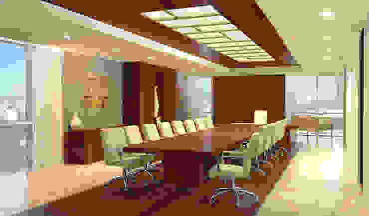 Офис Конференц-центры в стиле модерн от Лаборатория дизайна интерьера Модерн