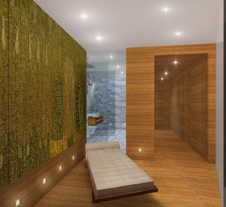 Офис Спа в стиле модерн от Лаборатория дизайна интерьера Модерн