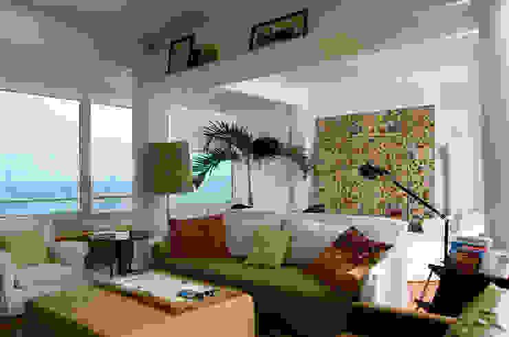 Apartamento Arpoador Salas de estar modernas por Bel Castro Arquitetos Moderno