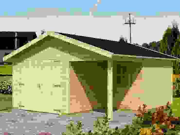 Garaż VERSUS MIX Klasyczny garaż od Ogrodolandia Klasyczny