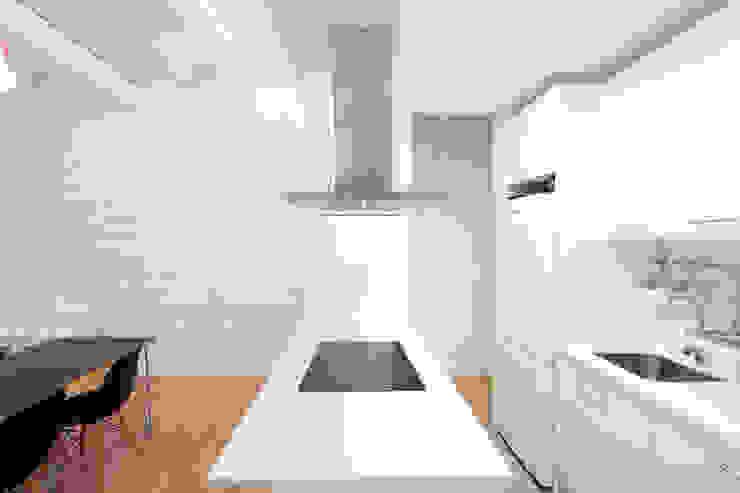 Península cocina Dolmen Serveis i Projectes SL Cocinas de estilo moderno