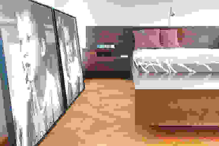 Privathaus München Moderne Schlafzimmer von raumkontor Innenarchitektur Architektur Modern