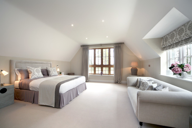 A Country Home Country style bedroom by Emma & Eve Interior Design Ltd Country