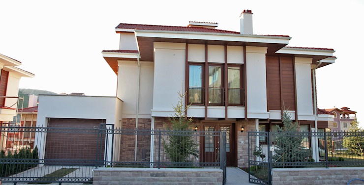 Casas de estilo  por Nurettin Üçok İnşaat