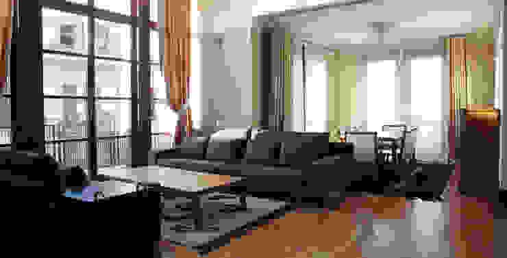 Modern living room by Nurettin Üçok İnşaat Modern